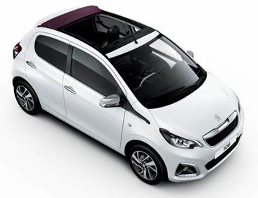 Peugeot 108 - Open Top